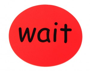 Wait Card (WAI) smaller