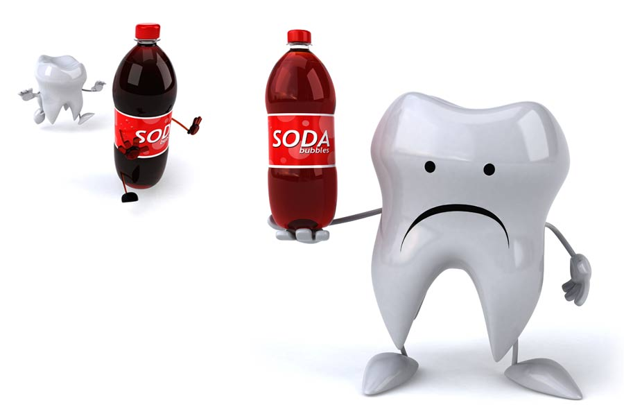 Dental decay drinks